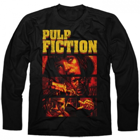 Manga Longa Pulp Fiction 1