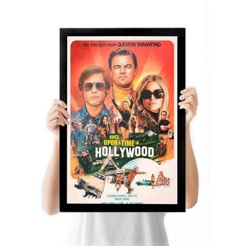 Poster Once a Upon Time in Hollywood