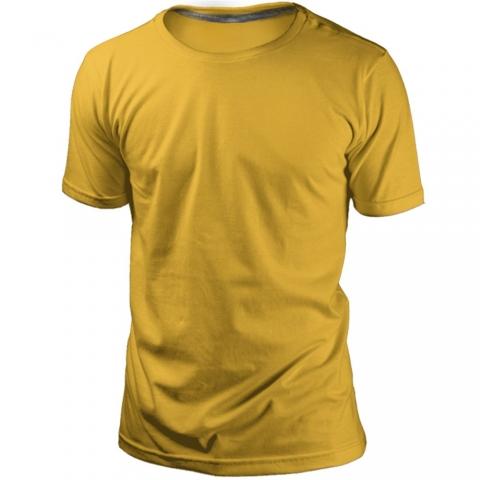 Camiseta Amarela Sem Estampa
