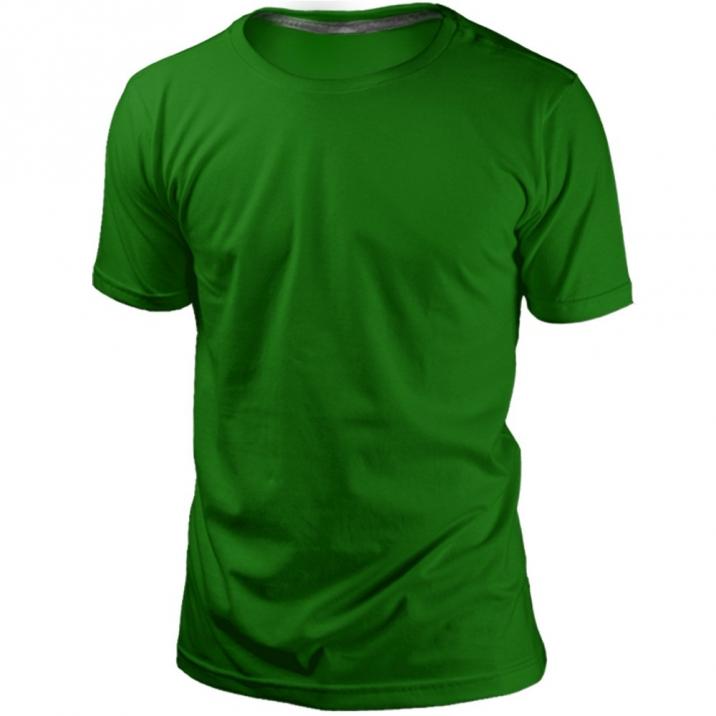 Camiseta Verde Sem Estampa