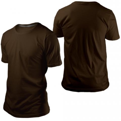 Camiseta Marrom