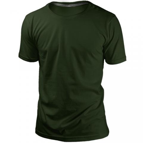 Camiseta Musgo Sem Estampa