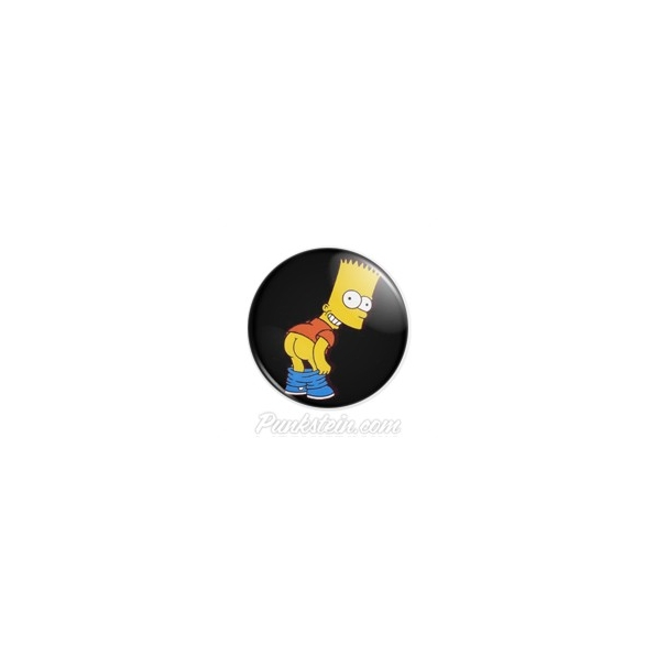 Botton Bart Simpson 1