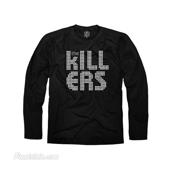 Manga Longa Masculina The Killers 1