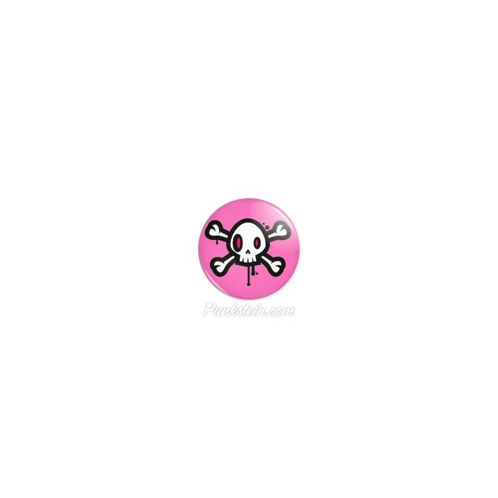 Botton Skull Pink